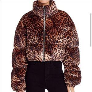 Tigermist Reme Leopard Jacket *Brand New w/ tags!*